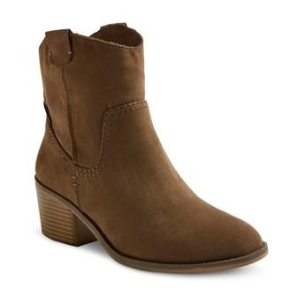 Women's Sawyer western Booties - Grey - Merona $34.99 thestylecure.com