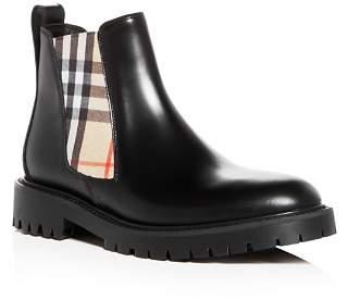 Burberry Women's Allostock Leather Booties