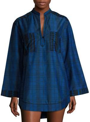Proenza Schouler Shirt Dress Coverup