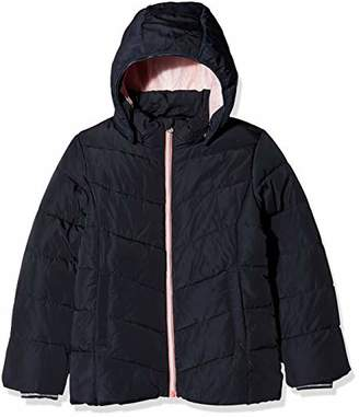 Name It Girl's Nkfmil Puffer Jacket Camp, Blue Sky Captain