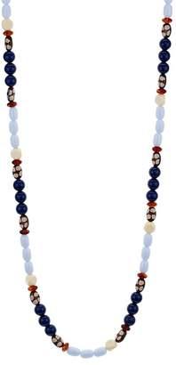 """Aqua Multicolor Beaded Necklace, 36"""" - 100% Exclusive"""