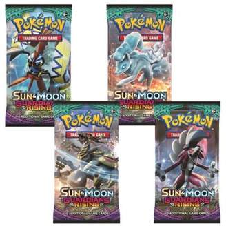 Pokemon Trading Cards: Sun & Moon Guardians Rising 4 Sealed Booster Packs