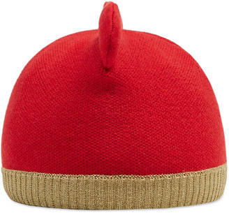 Baby knit hat with ears $155 thestylecure.com