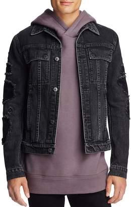 Helmut Lang Distressed Denim Jacket