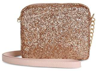 Capelli Girls' Glitter Crossbody Bag
