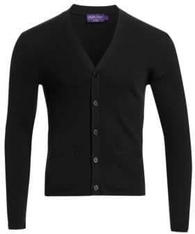 Ralph Lauren Purple Label Merino Wool Cardigan