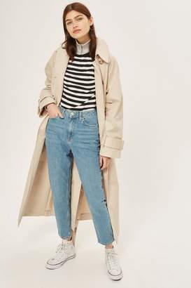 Topshop Mid Blue Orson Slim Leg Jeans