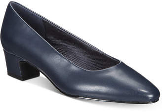 60f3c214a46 Navy Kitten Heel Shoes - ShopStyle Canada