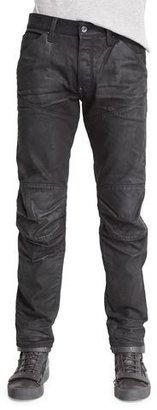G-Star 5620 3D Tapered Slim Denim Jeans, 3D Dark Aged $210 thestylecure.com