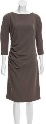 Christian Dior Midi Sheath Dress