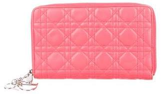 Christian Dior Lady Continental Wallet