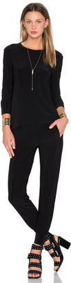 Norma Kamali Go Travel 3 Pack Top, Pant, & Dress $285 thestylecure.com