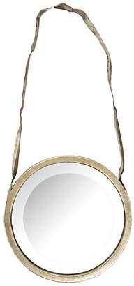 One Kings Lane Laurel Wall Mirror - Silver