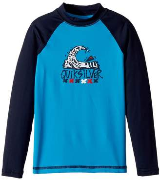 Quiksilver Bubble Dream Long Sleeve Rashguard Boy's Swimwear