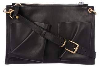 Marni Bandolier Double Pocket 2-in-1 Crossbody Bag