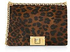 Furla Women's Small Mimi Leopard Suede & Leather Crossbody Bag