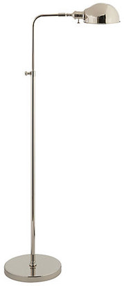 Visual Comfort & Co. Old Pharmacy Floor Lamp - Polished Nickel