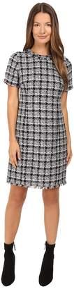 Kate Spade Textured Tweed Sheath Dress Women's Dress