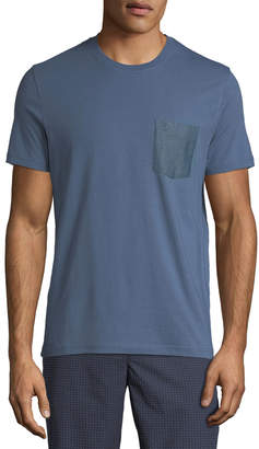 Original Penguin Men's Dobby-Pocket Crewneck T-Shirt
