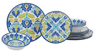 Alcott Hill Hoehn 12 Piece Melamine Dinnerware Set, Service for 4