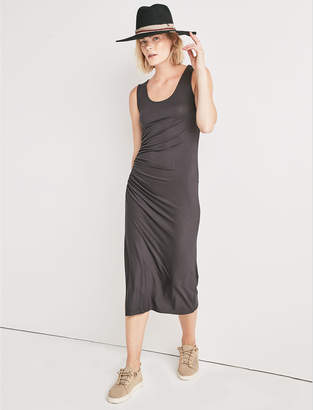 Lucky Brand RUCHED TANK DRESS