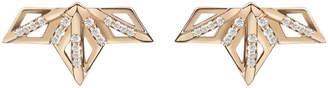 Gillian Steinhardt Queen P 14k Gold & Diamond Ear Climber