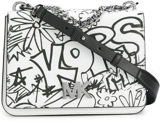 MICHAEL Michael Kors grafitti shoulder bag