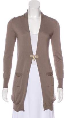 Peserico Long Sleeve Knit Cardigan