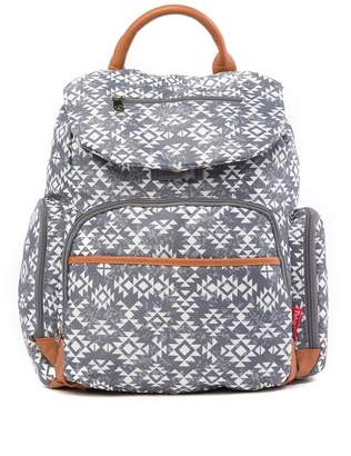 Fisher-Price Shiloh Grey Aztec Backpack