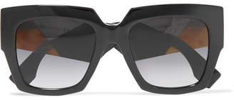 Fendi Square-frame Acetate Sunglasses - Black
