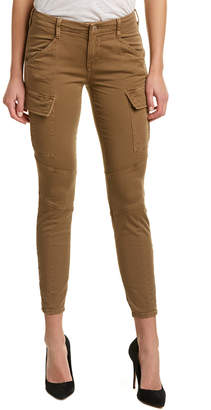 J Brand Houlihan Distressed Sand Dunes Cropped