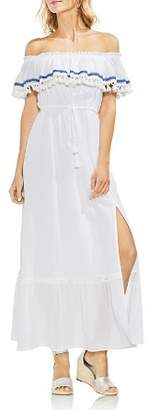 Vince Camuto Ruffled Off-the-Shoulder Maxi Dress
