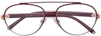 Dolce & Gabbana Eyewear round aviator frames