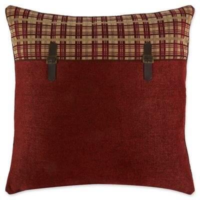 Glendale European Pillow Sham in Red