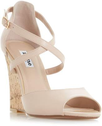 Dune KASINO CROSS WEDGE SANDALS