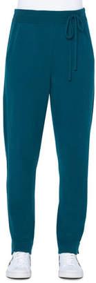 Akris Cashmere Side-Tie Jogger Pants