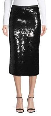 Max Mara Sequin Pencil Skirt