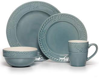 Pfaltzgraff 16-Pc. Antigua Blue Dinnerware Set