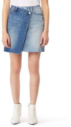 Habitual Reza High Rise Denim Miniskirt