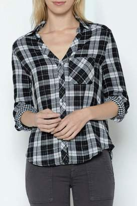 Joie Cydnee Plaid Shirt