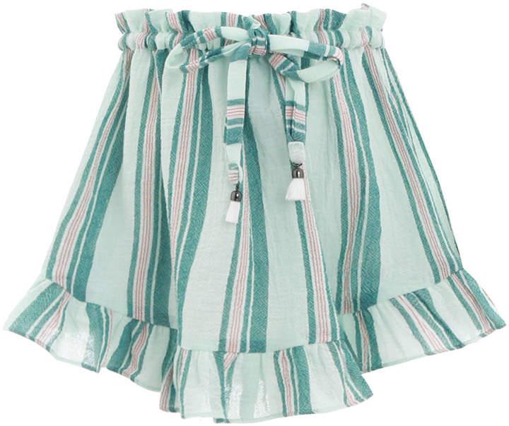 Zimmermann Kali Stripe Skirt