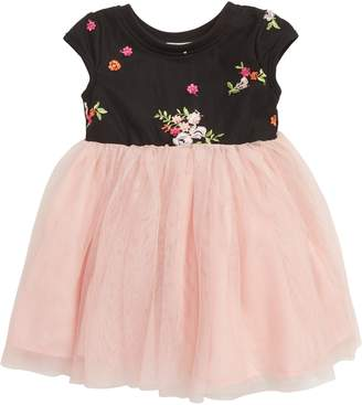 7f0acd423d8c2 Girls Floral Embroidery Dress - ShopStyle