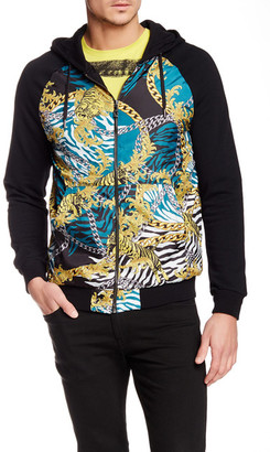 Versace Jeans Hooded Zip Sweater $573 thestylecure.com
