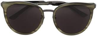 Gucci round framed sunglasses