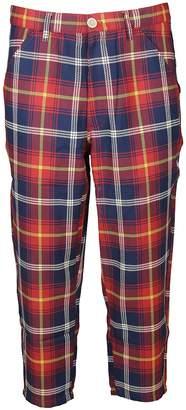 Comme des Garcons Tartan Check Trousers