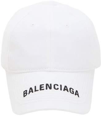 Balenciaga Logo Embroidered Baseball Hat 1951a3c557ab