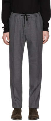BOSS Grey Banks Drawstring Trousers