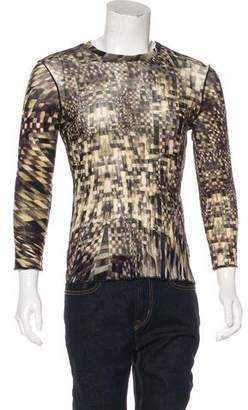 Just Cavalli Knitted Graphic Shirt