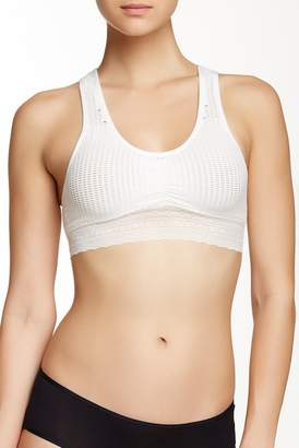 Free Press Seamless Crochet Racerback Bra