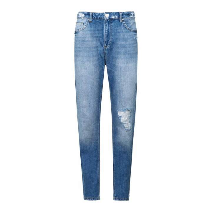 Blue I Love Bikers Jeans